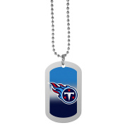 NFL Tennessee Titans Team Tag Necklace, Steel, 70cm