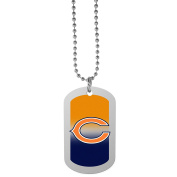 NFL Chicago Bears Team Tag Necklace, Steel, 70cm