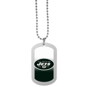 NFL New York Jets Team Tag Necklace, Steel, 70cm