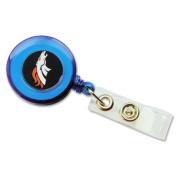 Denver Broncos Retractable Badge Reel Id Ticket Clip Nfl