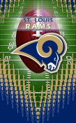 Turner NFL St. Louis RamsMemo Book, 3 Packs