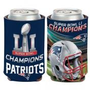 New England Patriots Super Bowl 51 Champions Can Cooler