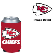 Kansas City Chiefs NFL Team Logo Sports Drink Beer Water Soda Beverage Can Insulated Picnic Outdoor Party Beach BBQ Kooler Can Cooler - 350ml Classic Can