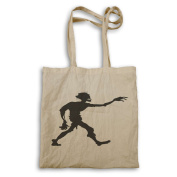 HAPPY HALLOWEEN ZOMBIE FUNNY NOVELTY NEW Tote bag j94r