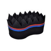 Double Sides Hair Twist Sponge Multi-layer Compound Twist Sponge Brush Sponge