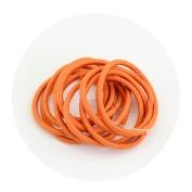 ECYC® 100pcs/lot 3 cm Hair Elastics Bobbles Hair Bands