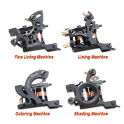 Tattoo 4 Standard Tunings Tattoo Machines Fine Lining Shading Machine Lining Machine Colouring Machine MK-1EUYMX