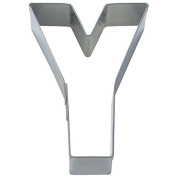 Staedter Letter Y Cookie Cutter, Silver