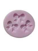 YL Bow-knot Y180 Silicone Sugar Resin Craft DIY Moulds DIY gum paste flowers Cake Decorating Fondant Mould