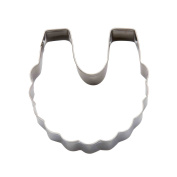 decolordulce Bib Cookie Cutter, Stainless Steel, Silver, 13 x 10 x 3 cm