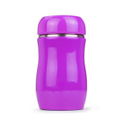YIHANG @ Stainless Steel Insulation Cup Cute Creative Portable Student Children Cup,Purple