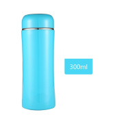 YIHANG @ Female Cup Portable Simple Creative Cup Couple Stainless Steel Cup,Blue