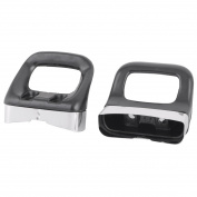 sourcingmap® Plastic Household Restaurant Kitchen Skillet Stockpot Wok Pot Pan Handle Grip 2pcs