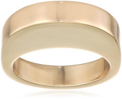 may mOma Women's Fan Metal High Ring - Size L