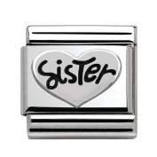 Nomination 330101/11 Unisex Charm 925 Sterling Silver