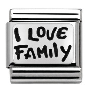 Nomination 330102/34 Unisex Charm 925 Sterling Silver