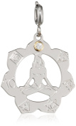 Nomination Women's Charm Symphony Chakra Stainless Steel with White 026221/005