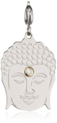 Nomination Women's Charm Symphony Stainless Steel Buddha with White 026221/002