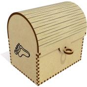 'Human Footprint' Treasure Chest / Jewellery Box