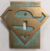 Superman Logo - Light Switch Cover