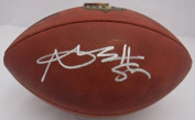 Antonio Brown Autographed Pittsburgh Steelers Authentic Football JSA
