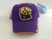 New Miles College Golden Bears Purple Hook and loop Hat