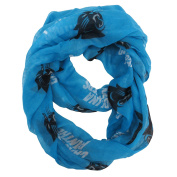 Carolina Panthers Scarf - Infinity Style - Alternate