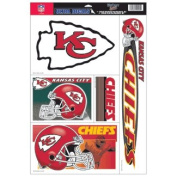 Kansas City Chiefs 28cm x 43cm Jumbo Ultra Decal Set