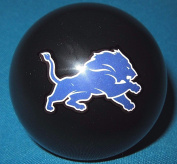 Detroit Lions Black Billiard Pool Cue Ball 8