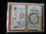 Gift For Olivia Princess Unicorn Mount With Special Verse And Choice Of Photo Frame