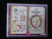 Gift For Megan Princess Unicorn Mount With Special Verse And Choice Of Photo Frame