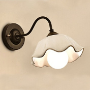 OOEOE Wall Light Bedroom Lamp Creative Bedside Lamp Warm Aisle Lights Staircase Lights