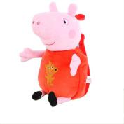 OliaDesign Peppa Pig Plush Backpack