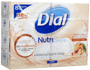 Dial Glycerin Bar Soap - White Peach and Shea - 120ml - 8 ct