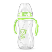 Baby Wide Calibre Pp Material Curved Bottle 8 Ounces,B-240ml
