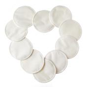 10 Pcs Chest Protectors for Nursing, gzqes, Bamboo Washable Reusable Nursing