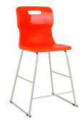Titan T62 School Lab High Chair Size 5 Age 9-13 Years Orange MIN ORDER 6