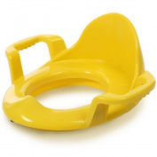 KIDYU Children's Toilet Seat Non-slip With a Handle Three Colours Suitable for Boys and Girls