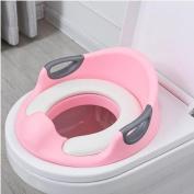 KIDYU Children's Toilet Seat Trainer for Boys and Girls Non-Slip Reducer Soft Padded Bathroom Easy Clean