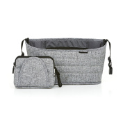 ABC Design Pushchair Organiser, Graphite Grey