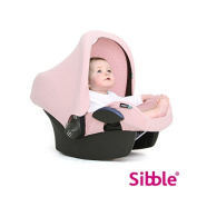 Sibble Maxi Cosi Citi and Pebble Sun Canopy for Cabriofix, Honey Pink