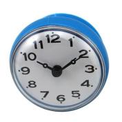 Blue Waterproof Clock 7cm Diameter