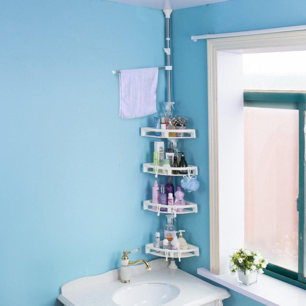 Contemporary Hanging Shower Caddy Festooning - Bathtub Design Ideas ...