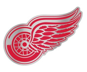 NHL Detroit Red Wings Plastic Auto Badge Sticker Decal