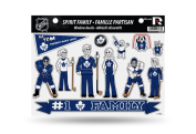 Licenced NHL Toronto Maple Leafs #1 Fan Family Window Stickers/Decals