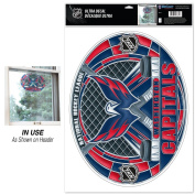 NHL Multi-Use Decal Stained Glass