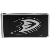 NHL Anaheim Ducks Black & Steel Money Clip
