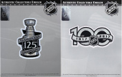 125th Stanley Cup Final & NHL 100th Centennial Season Anniversary Jersey Patch