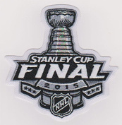 2015 NHL Stanley Cup Final Champions Logo Jersey Patch Chicago Blackhawks vs. Tampa Bay Lightning
