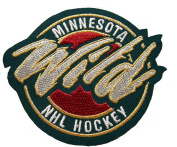 Minnesota Wild Jersey Shoulder Logo Patch
